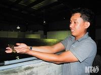Thưong hiệu tôm giống của Ninh Thuận ngày càng được nâng cao