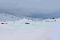 Tuyết rơi dày trên sa mạc Sahara